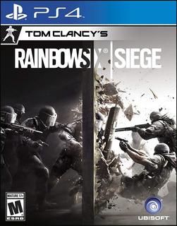 Tom Clancys Rainbow Six Siege Ps4 Nuevo Fisico Sellado