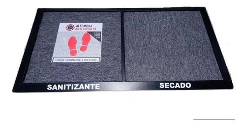 Imagen 1 de 3 de Alfombra Sanitizante  2 En 1 Zona Sucia /limpia 90x50 Cm