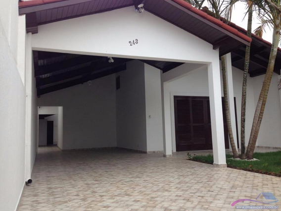 Casa À Venda No Bairro Satélite , Itanhaém, Ref. 0374 M H