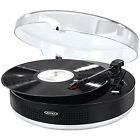 Jensen Jta-455 Bluetooth(r) 3-speed Stereo Turntable With Me
