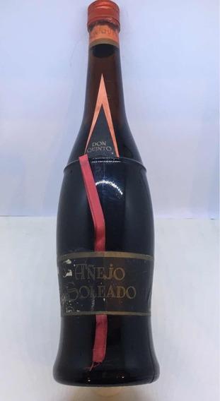 Botella Colección Antigua Vino Añejo Soleado