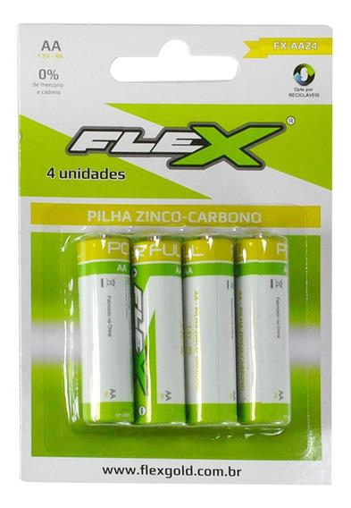 Pilha Zinco-carbono Aa ( Cartela C/4 ) Ds Tools