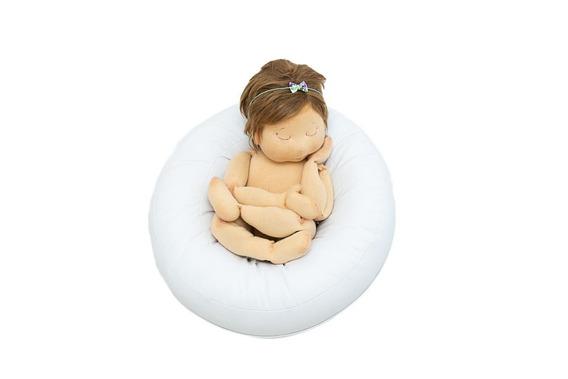 Puff Newborn Fotografia Mini Rosquinha Posicionador Props