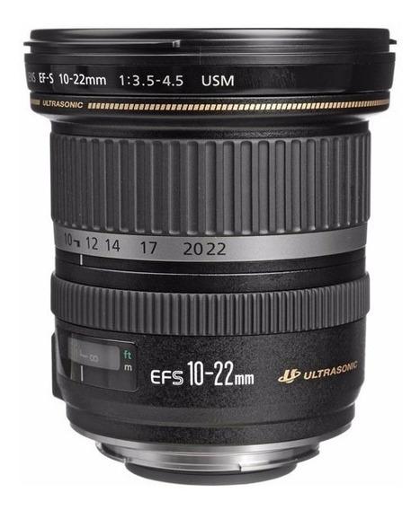Lente Canon Ef-s 10-22mm F3.5-4.5 Usm Na Caixa