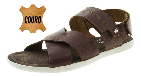 Sandália Masculina Reynolds Conhaque West Coast - 129952