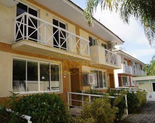 Casa Em Condomínio-à Venda-recreio Dos Bandeirantes-rio De Janeiro - Abcn30009