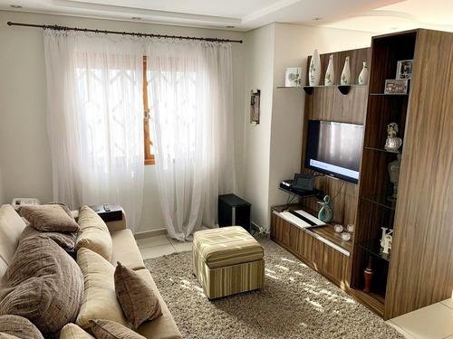 Sobrado Mobiliado 200m² 1 Suite Closet Churrasqueira 2 Vags