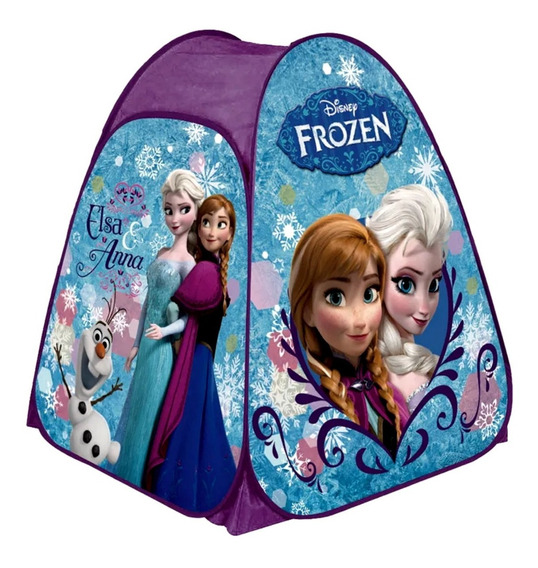 Barraca Toca Tenda Infantil Frozen Disney Portátil Menina