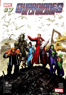 Guardianes De La Galaxia #7 - Brian Michael Bendis