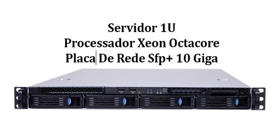 Servidor Rack 1u 02 Xeon E5 2650 Octacore 32 Gb 2 Ssd 480 Gb