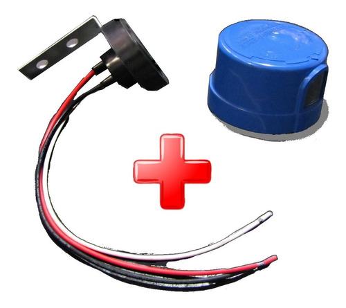 Fotocelula Fotocelda Combo Base Y Cable 1000w 120-277v