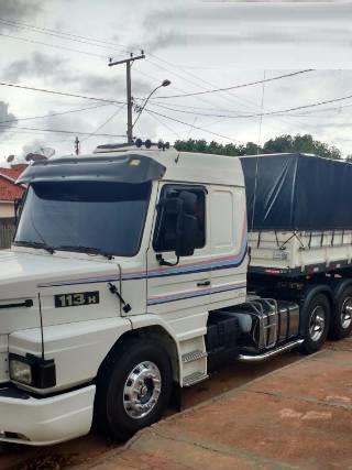 Scania 113 Ano 98 Com Carreta Graneleiro 2010