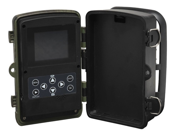 Câmera De Trilha Caça Ceva Animais Tela Lcd Embutida Hc-800a