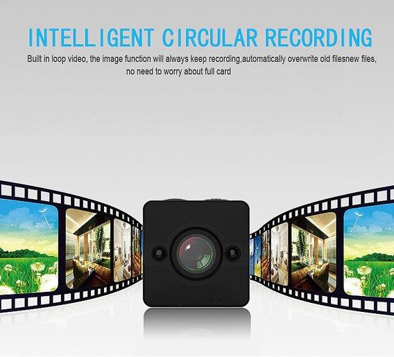 Mini Camera Filmadora Sq12 1080p Visao Noturna Promocao