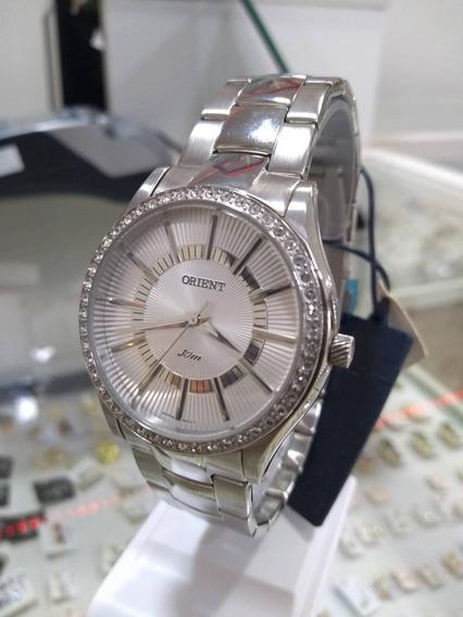 Relógio Orient Feminino Pedras Ppim-195