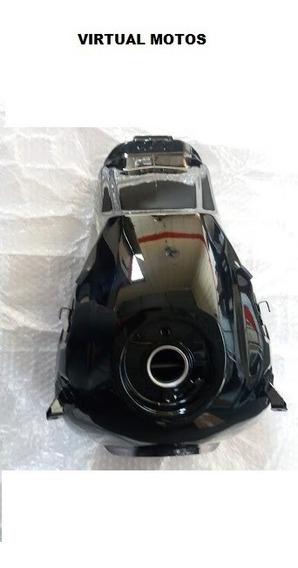 Tanque Combustível Honda Nxr-160 Bros 160 Es 2016 Até 2017 Cor Preto Original De Fábrica