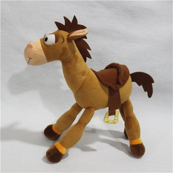 Cavalo Pelúcia Bala No Alvo Toy Story Disney 35cm Original