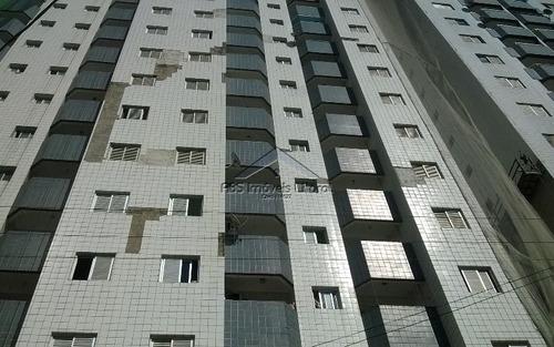 Imagem 1 de 12 de Apartamento De 2 Dormitórios Na Vila Mirim Em Praia Grande