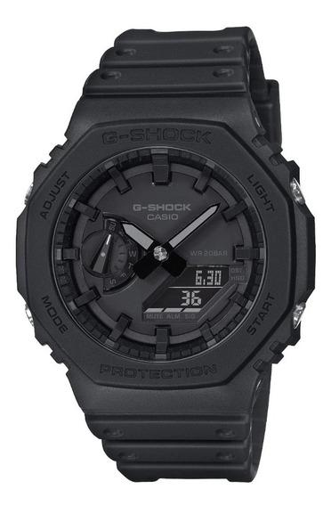 Reloj Casio G-shock Carbon Core Guard Ga-2100-1a1 Casioak