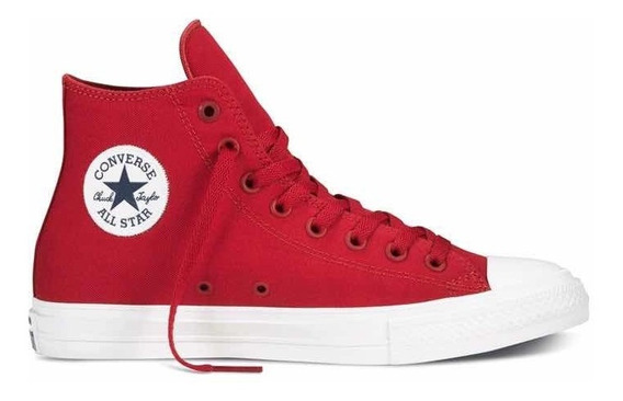 Converse Chuck Taylor 2 Hi Rojo Lunarlon