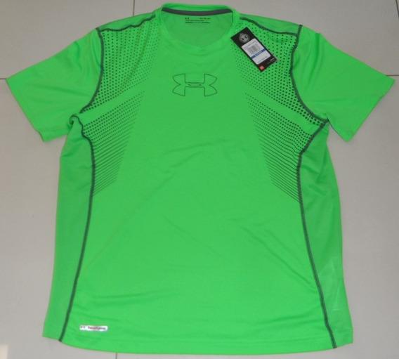 Under Armour Camiseta Playera Xl Manga Corta Verde