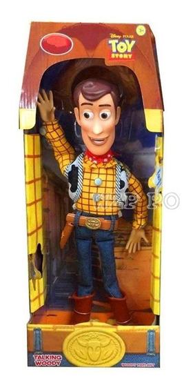 Woody Ou Jessie Toy Story Boneco Falante Original Unidade