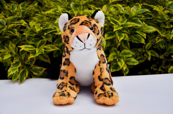 Peluche Jaguar Wwf Colombia Conservación Donación Sugerida