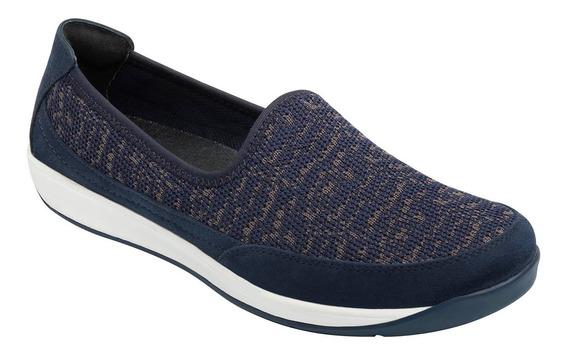 Zapato Tipo Tenis Flexi Dama 28306 Azul