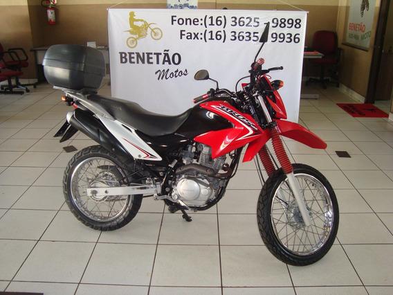 Honda Nxr 125 Bros Es Vermelho 2014