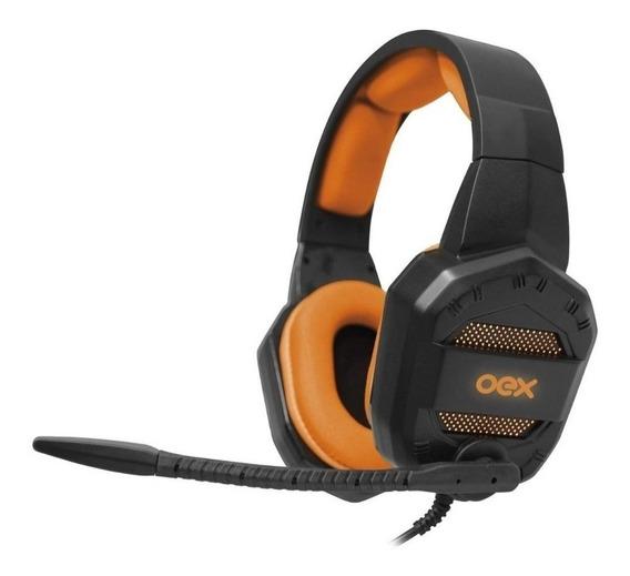 Headset Gamer Multiplataformas Com Led Conquest Hs406 Oex