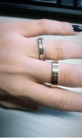 Par De Alianças Ouro 18k 750 4mm 11 Gramas Luxo Diamantes