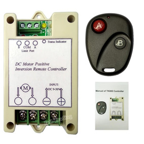 Placa Controladora Motor Atuador Linear 12v Dc Com Reversor