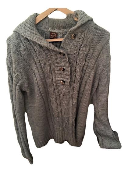 Sweater Lana Wanama Hombre, Fino Y Abrigado