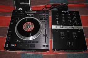 Controladora Numark V7 E Mixer Numark X5 Seminovo