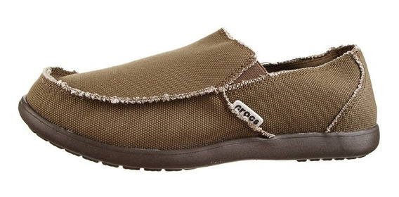 Pancha Mocasin Crocs Santa Cruz Men Mrn Envios Caba Y Bs As