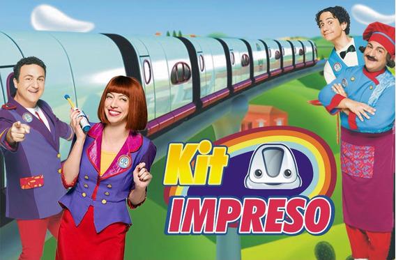 Topa Junior Express Kit Impreso Personalizados 15 Niños
