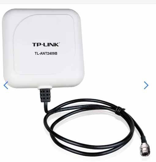 Antena Direccional Tp-link Tl-ant2409b 2.4ghz Tipo N 9db