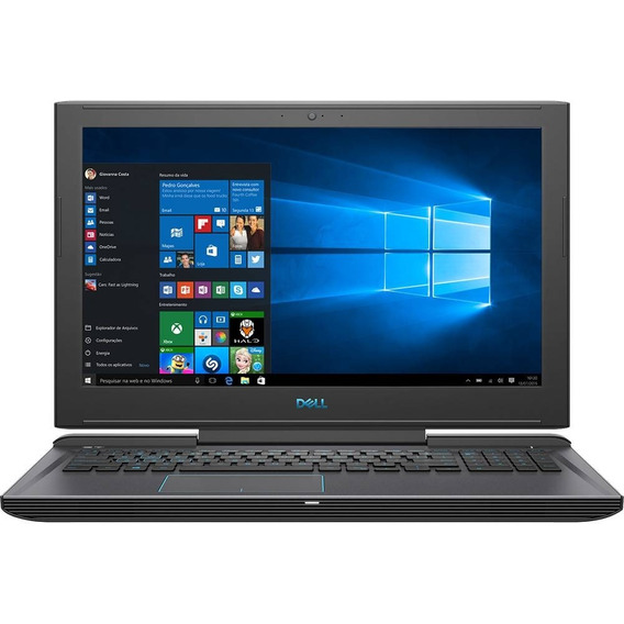 Notebook Dell Gamer G7 I7 32gb 512ssd+2tb 1060 6gb 15.6 Fhd