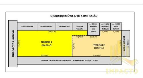 Imagem 1 de 1 de Lote - Terreno A Venda No Bairro Estreito - Florianópolis, Sc - Te0006