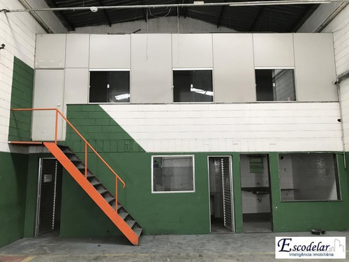 Galpão Para Alugar, 500 M² Por R$ 12.000,00/mês - Casa Verde Alta - São Paulo/sp - Ga0066