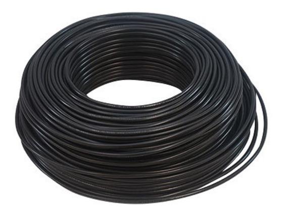 Rollo Cable Eléctrico Cal 10 Thw 100 Metros Negro Regalalo