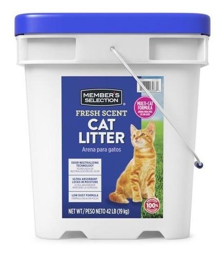 Arena Gatos Cat Litter Members Selection X 42 Libras.