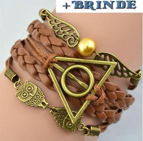 Pulseira Pomo De Ouro Harry Potter Relíquias Quadribol
