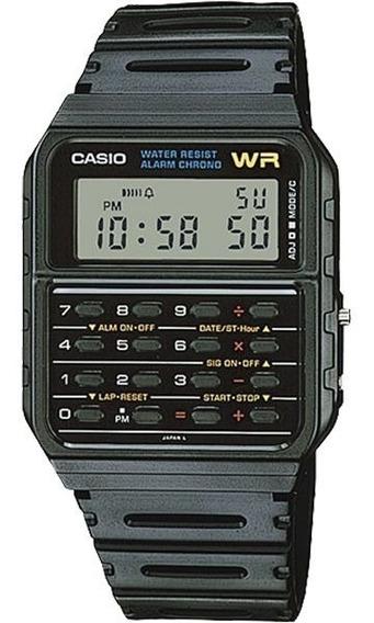 Relógio Casio Calculadora Ca-53w-1z Back To The Future