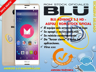 Software Blu Advance 5.5 Hd - A070u Rom Stock Oficial