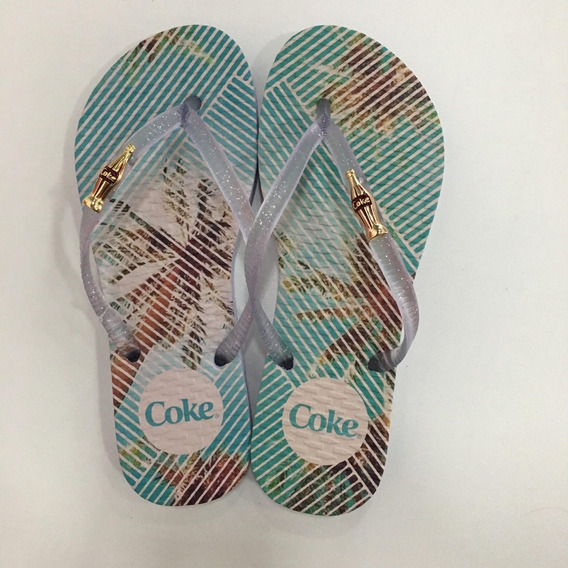 Chinelo Coca Cola Shoes Tropical Square Ref :82518
