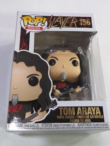 Slayer - Tom Araya   Muñeco Funko Pop