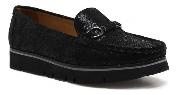Sapato Feminino Mocassim Zariff Shoes Flatform 50505