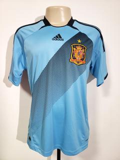 Camisa Futebol Oficial Seleção Espanha 2012 Away adidas M