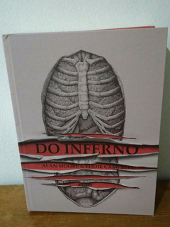Hq Do Inferno - Alan Moore E Eddie Campbell - Capa Dura